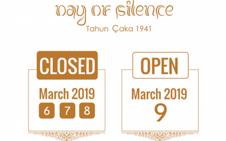 Open hours for Day of Silence